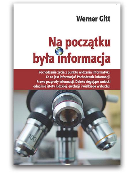 Okładka książki: Na początku była informacja