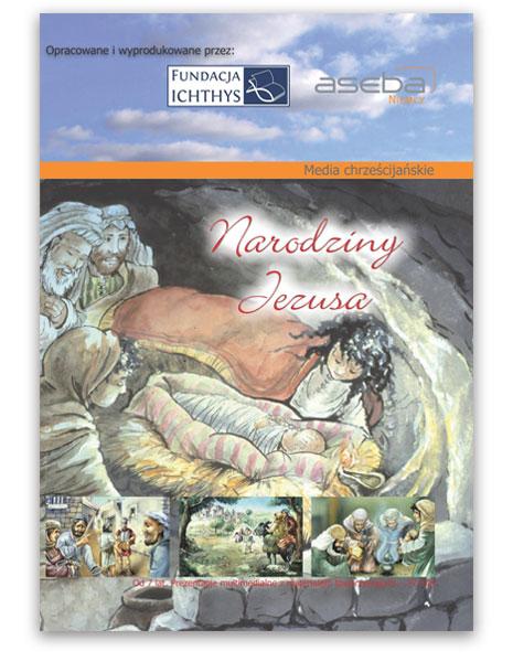 Okładka dvd: Narodziny Jezusa